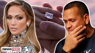 Jennifer Lopez DITCHES Engagement Ring From Alex Rodriguez!