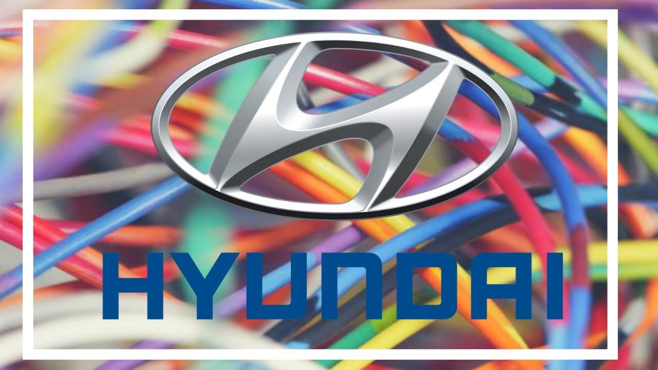 Hyundai Elantra Wiring Diagrams 1998 To 2016 Youtube