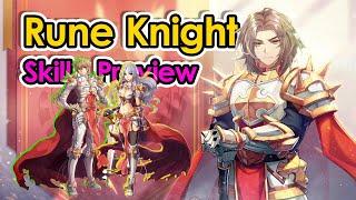 [ROX] 3rd Job Rune knight Skill Preview   Ragnarok X Next Generation   King screenshot 4