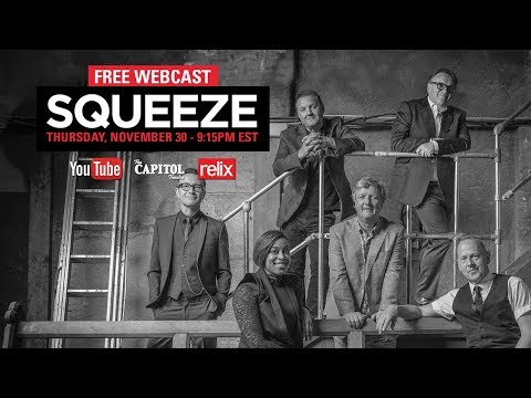 Squeeze :: 11/30/17 :: Live From The Captiol Theatre :: Full Show