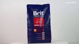 Обзор корма Brit Premium для пожилых собак крупных пород