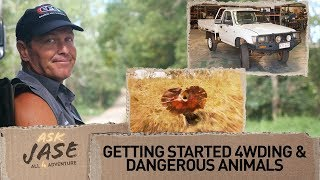 Ask Jase: Getting started 4wding & Dangerous Animals ► All 4 Adventure TV