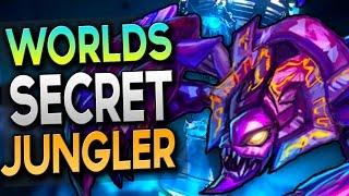 WORLDS SECRET JUNGLER - Skarner Gameplay - League of Legends
