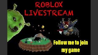 🔴 Roblox Live Stream / Sígueme para unirme a mi juego 🔴