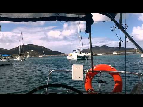 Sailing the BVI's with Conch Charters Feb 2013