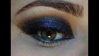 видео Синий макияж