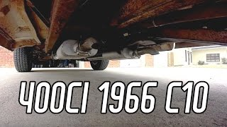 Chevy C10 Exhaust Work: Ike's Adventures
