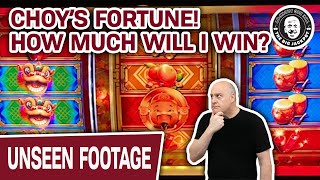 🎰 How Much Will I Win? 🥠 Playing Choy's Fortune High Limit Slots