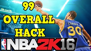 NBA 2K16 PC 99 OVERALL HACK!!!