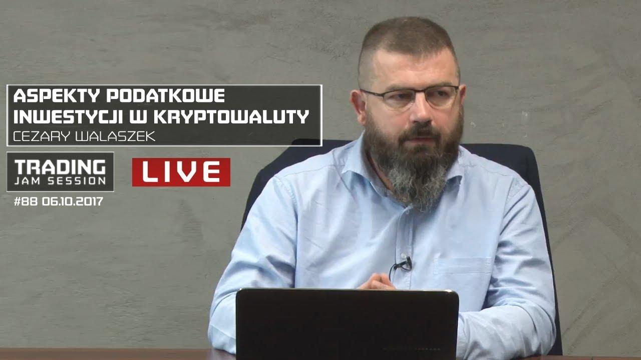 Aspekty podatkowe inwestycji w kryptowaluty, Cezary Walaszek, #88 TJS