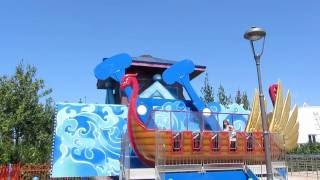 Детские аттракционы в Сочи Парке. Путешествия по России с детьми. Олимпийский парк видео.