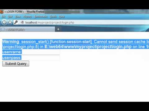 how to fix session and headers error