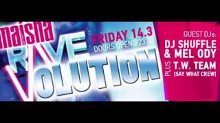 Rave-Olution @ Maisha [Promo Mix] (Electro House) *Free D/L* - DJ Shuffle