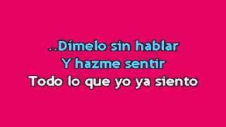 Enrique Iglesias - Dimelo karaoke