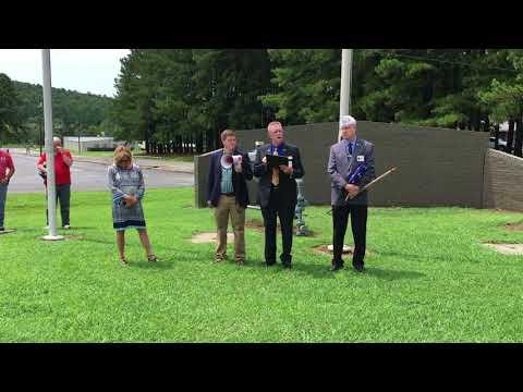American Legion Flag Presentation