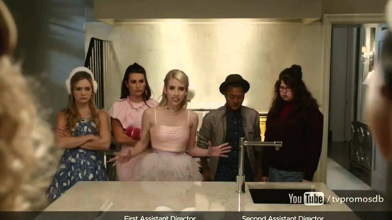 scream queens 1x04 promo haunted house hd youtube. Black Bedroom Furniture Sets. Home Design Ideas