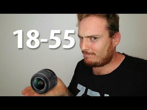 Lente 18-55mm serve pra alguma coisa?