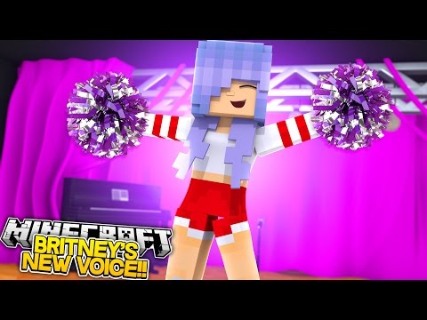 BRITNEY GETS A NEW VOICE!! w/Little Carly and Little Kelly (Minecraft Roleplay)