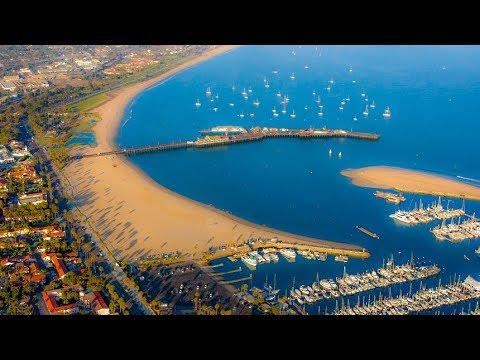 A Walk Out Onto The Santa Barbara Pier