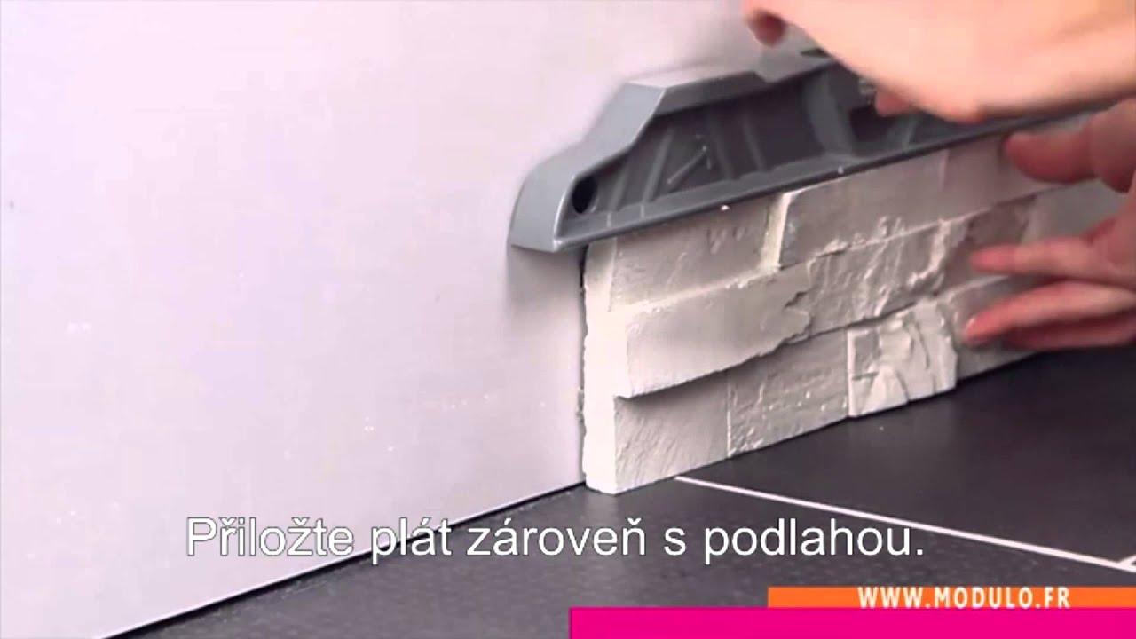 Thermart modulo easyfix instalace youtube - Comment poser des briques de parement ...