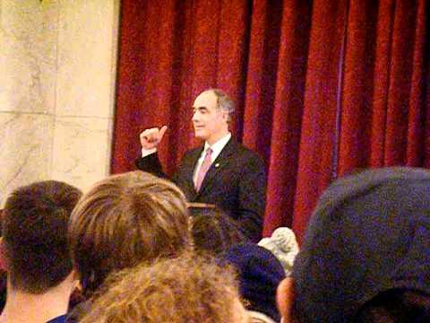 March for Life 2012 - Washington DC - Senator Bob Casey Jr Q & A