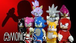 LEGO Sonic In Among Us