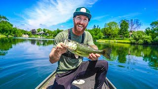 JON BOAT BASS FISHING with Alex Peric aka APBASSIN 💥