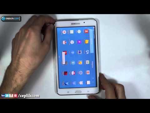 Samsung Galaxy Tab 4 Modellerinde Ekran Görüntüsü Nasıl Alınır?