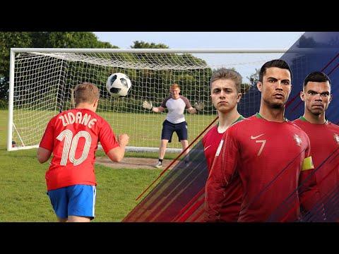 ZIDANE Headbutt Challenge | Ronaldo's Road To The World Cup - EP. 2