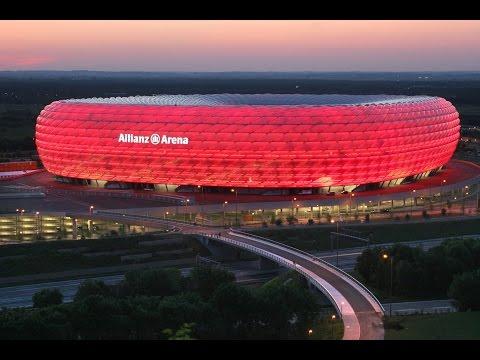 25 лучших футбольных стадионов мира