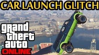 ★ Gta 5 - New Car Launch Glitch! Like Gta 4 Swingset Glitch!