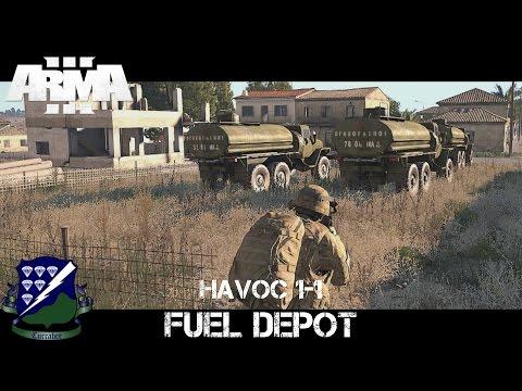 Havoc 1-1 - Fuel Depot - ArmA 3 Gameplay