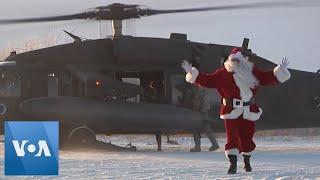 Alaskan National Guard Executes Operation Santa Claus in Rural Village