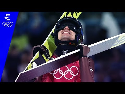 Ski Jumping | Men's Large Hill Individual Highlights | Pyeongchang 2018 | Eurosport