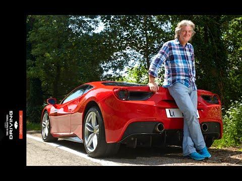 James May a los mandos del Ferrari 488 GTB