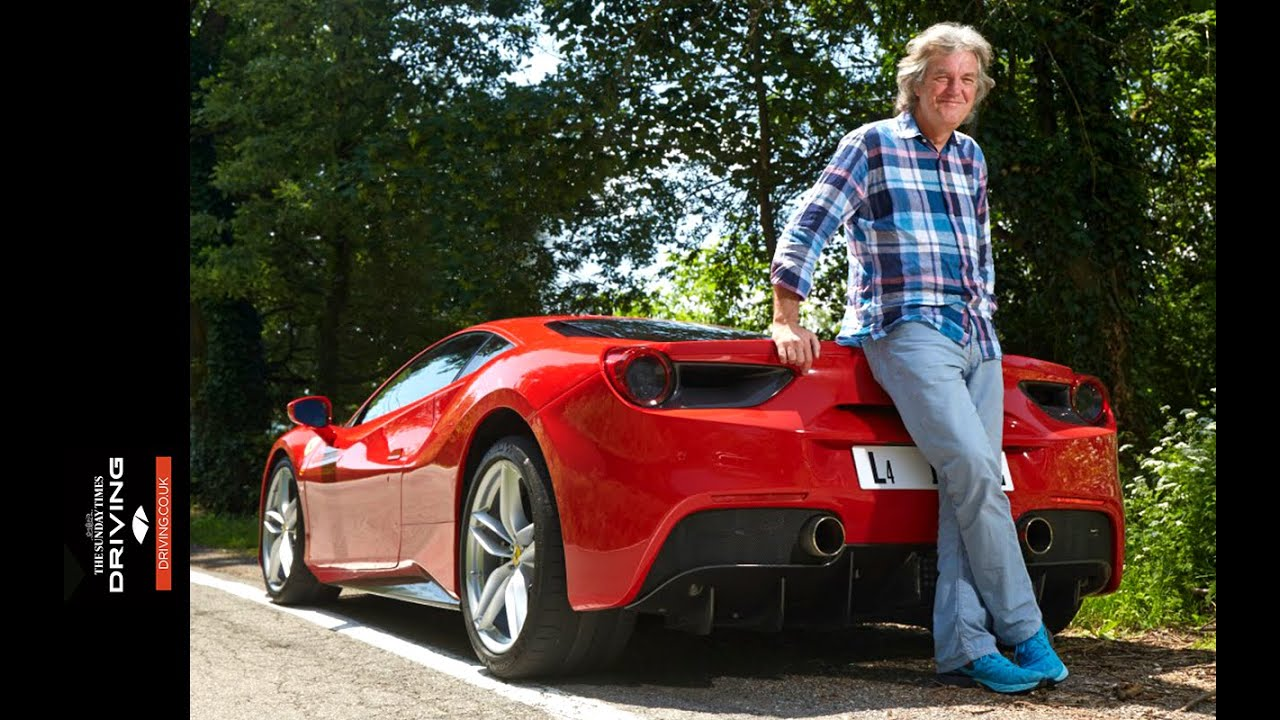 exclusive james may drives the 2015 ferrari 488 gtb youtube. Black Bedroom Furniture Sets. Home Design Ideas