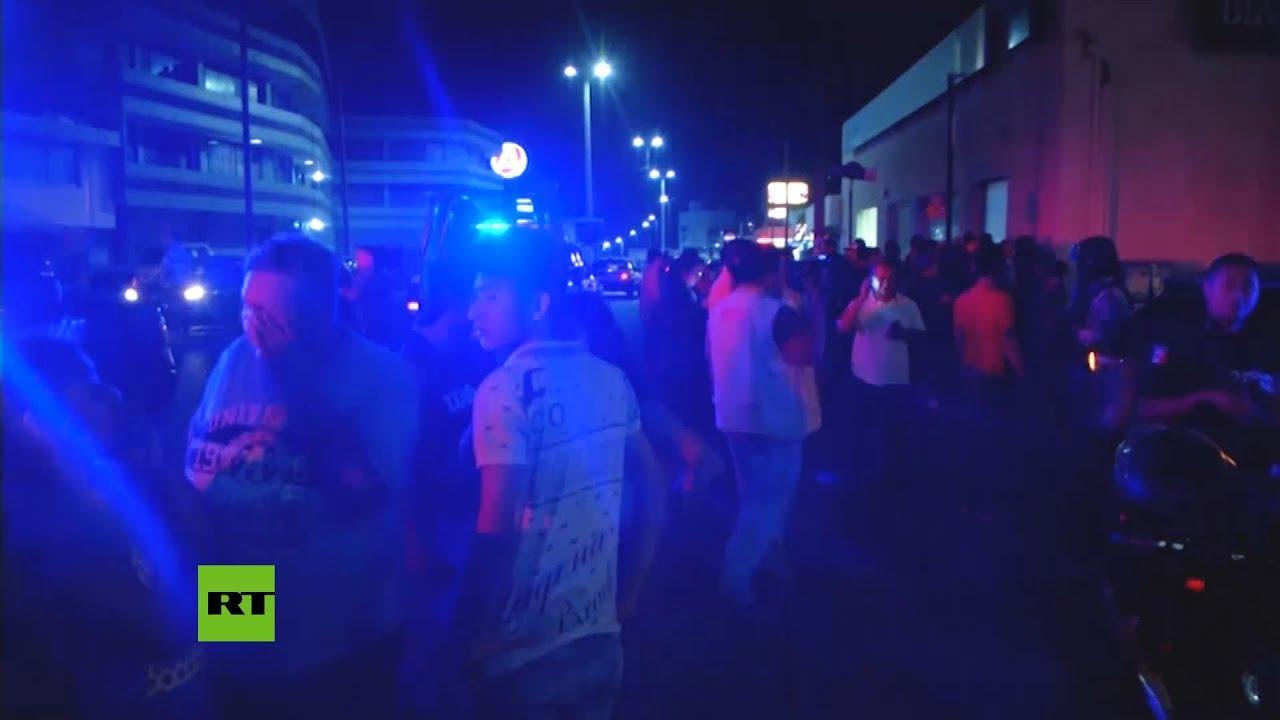 Al menos 25 muertos en un incendio en un bar en México