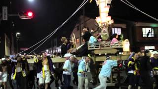 あばれ祭り 2015.07.04 立町 新町交差点