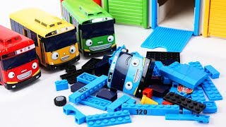 Tayo the Little Bus Friends Toys - Rogi Lani and Gani Build &amp Play with Tayo block Buil ...