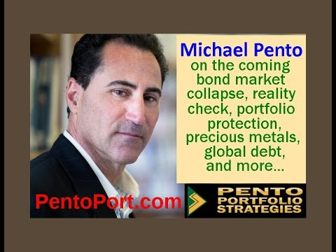 Michael Pento on the coming bond market collapse, global deb