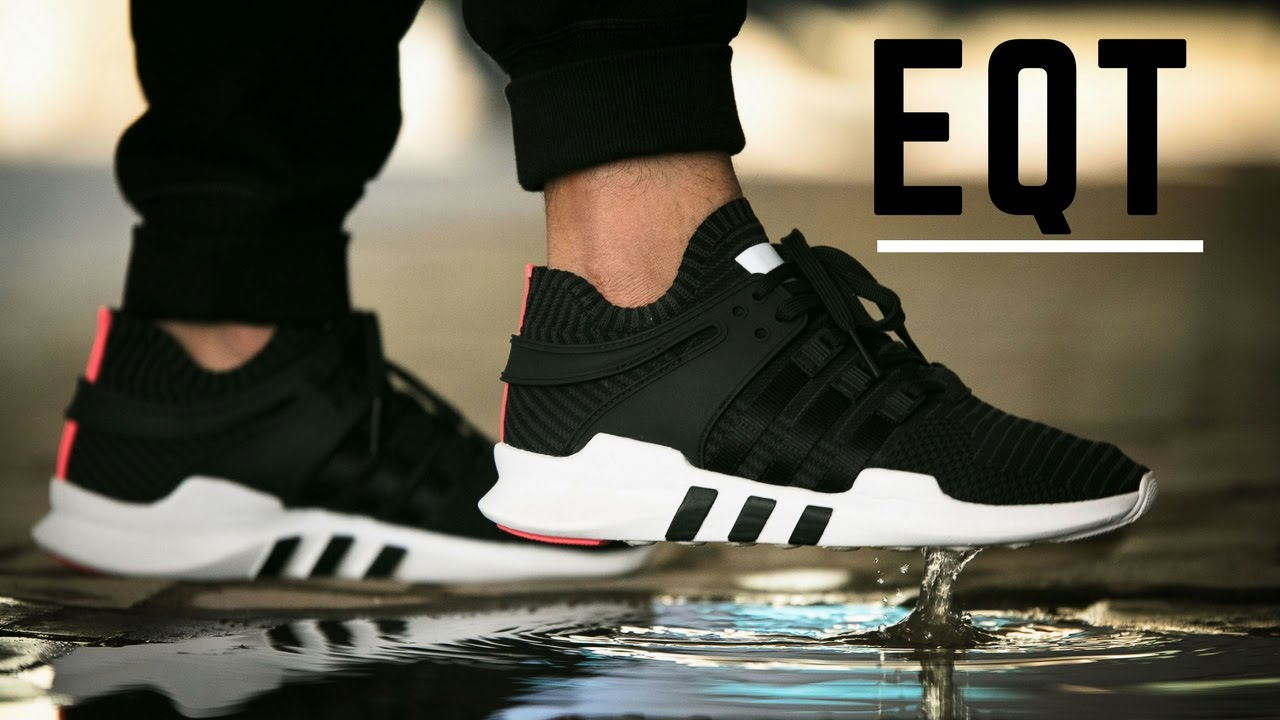 1cfd59e2c8a2 adidas EQT Support ADV Primeknit Turbo - Unboxing and On Feet Review ...