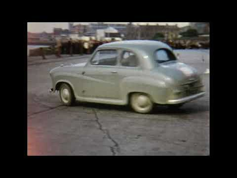 Limerick Motor Club 1958 Trial on the docks