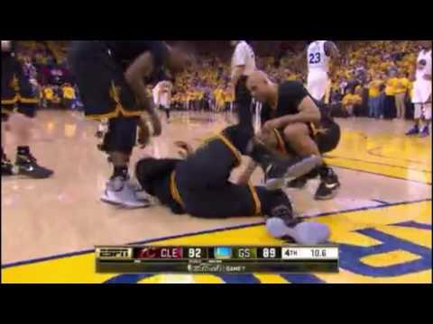 NBA 2016 FINALS GAME 7: CLE vs GS. Last 2 minutes!