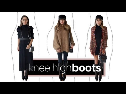 HOW TO STYLE KNEE HIGH BOOTS | 1 BOOT 3 WAYS + LOOK BOOK