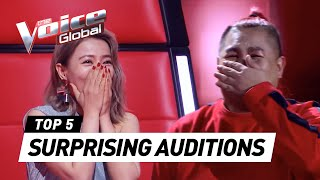 The Voice | MOST SURPRISING Blind Auditions worldwide [PART 4]