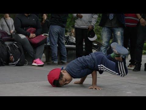 Unknown kid dancer in forum mall banglore