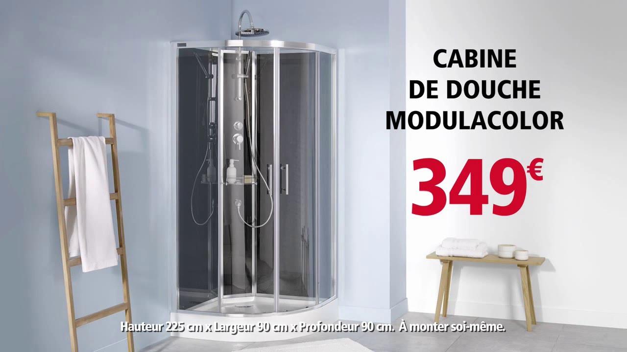 Vite fait brico depot cabine de douche modulacolor youtube - Cabine de douche 70x70 brico depot ...