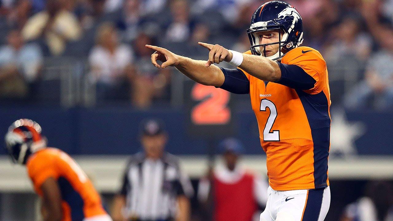 Zac Dysert Denver Broncos