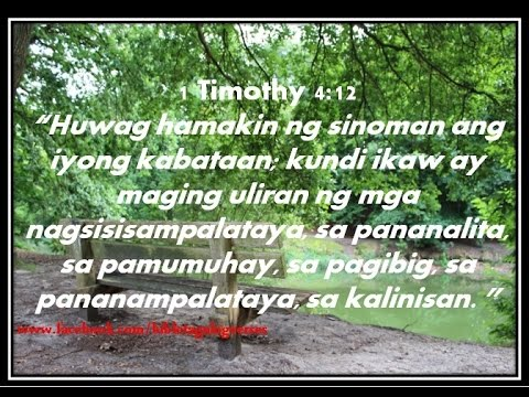 85 Bible Verses For The Philippines In Tagalog Youtube Mark 11 24