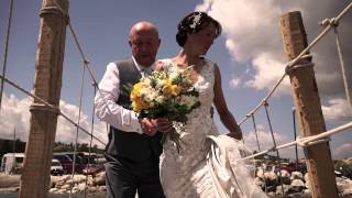 Charlotte & Graemme Wedding Trailer